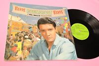 ELVIS PRESLEY LP ROUSTABOUT UK LAMIANTED COVER NM !!!!!!!!!!!!  TOOOPPPP