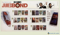 2008 James Bond Stamps in Presentation Pack PP381 (printed no.407) - Royal Mail