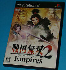 Sengoku Musou 2 Empires - Sony Playstation 2 PS2 Japan - JAP