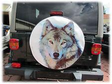 WOLF 2 Reserveradhülle Reifencover 68x21 Honda CR-V Suzuki Vitara Samurai Jimny