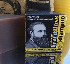 Professor Fuzzworthy Mens Beard Moustache Shampoo Wash Care Natural Facial Hairs
