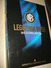 DVD N°5 LEGGENDA INTER 2010 LA STORICA TRIPLETTA CAMBIARE PELLE DERBY  MILAN 0-4