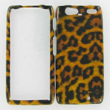 For Verizon Motorola DROID RAZR MAXX HARD Protector Case Phone Cover Leopard