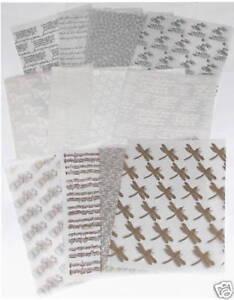 48 SHEET BUMPER VELLUM PAPER PACK