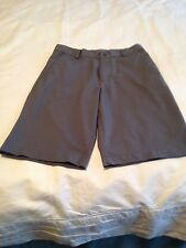 Nike Golf Sz M Gray Women 100% Polyester Golf Shorts!! Free Shipping!!