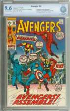 AVENGERS #82 CBCS 9.6 OW/WH PAGES