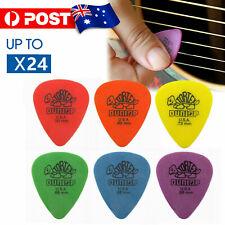 Jim Dunlop Tortex Standard Plectrums Mixed Pro Gauges Guitar Picks 24X