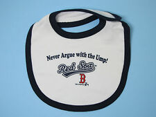 Boston Red Sox Baseball Newborn Baby Feeding Bib One Size Baby Clothes Gifts New