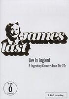 "JAMES LAST ""LIVE IN ENGLAND 3 LEGENDARY CONCERTS"" DVD"
