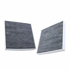 2x HQRP Filtro de Aire de Carbón Activado de Cabina para Honda Accord 2009-2012