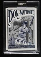 Don Mattingly 2020 Topps Project 2020 by Mister Cartoon #95 /27299 Yankees