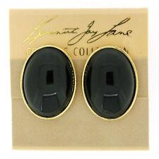 Kenneth Jay Lane Enamel Clip - On Costume Earrings