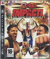 TNA IMPACT TOTAL NONSTOP ACTION WRESTLING for Playstation 3 PS3