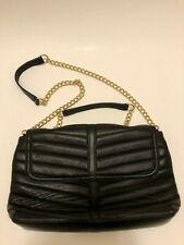 NWOT Talbot's genuine leather quilted black Leather purse shoulder bag