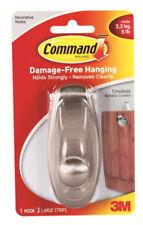 3M Command Decorative Hook Damage Free Hanging Holds 5lb 2.2kg