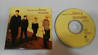 DANZA INVISIBLE TENGO QUE IRME SINGLE CD CARDSLEEVE PROMOTIONAL!!!