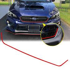 For Subaru WRX STI 2018-2020 Red Trim Front Grille Pinstripe Vinyl Decal Sticker