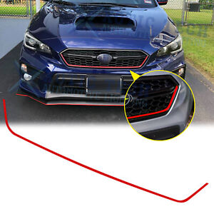 For Subaru WRX STI 2018-2020 Red Trim Front Grille Pinstripe Vinyl Decal Sticker