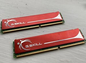 G.Skill 4GB RAM DDR3 1600mhz (2x2) 1.5V CL9 DIMM 240-pin (F3-12800CL9D-4GBNQ)