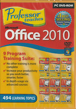 Professor Teaches Microsoft Office 2010 (PC) with 9 Separate Courses on 1 DVD