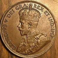 1917 CANADA LARGE CENT PENNY COIN