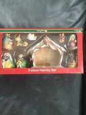 Cvs Merry Bright 9 Piece Nativity 2018 Christmas Set - Brand New In Box