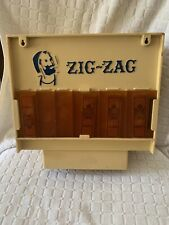 Vintage 1960's Zig Zag Tobacco Papers Dispenser Plastic Store Display