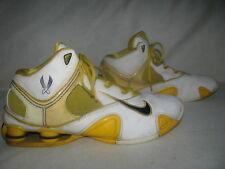 Nike Air Huarache Shox Men Athletic Shoes Sz 12 Yellow/White