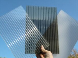 Twinwall & Triplewall Polycarbonate Sheets (UV Protected, 10 Year Warranty)