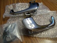 1967-1968 FORD MUSTANG OUTSIDE DOOR HANDLE-PAIR LH/RH (NEW) C7ZZ-6522404/5A  ACP
