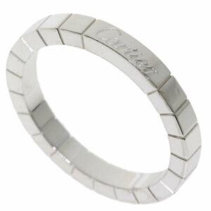 CARTIER   Ring Lanier # 60 K18 White Gold