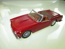 Ferrari 250 GT Cabriolet Convertible, Fischer 4M in 1:43 rebuilt modifiziert!
