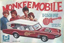 1960s MPC The Monkees Monkeemobile replica model box magnet - new!