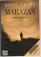 Marazan Nevil Shute 6 Cassette Audio Book Unabridged Literary Fiction FASTPOST