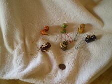 Bird Present Toppers, (6) Vintage, Well Made
