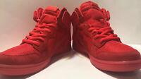 2015 Nike Dunk High CMFT PRM SZ 9 Light Crimson Red October Yeezy SB 705433-601
