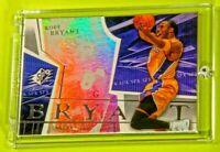 UD SPX Kobe Bryant Lakers Jersey Ultra Rare SP Rainbow Refractor Mamba HOF Mint