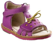 Noel 'Mini Sono' Baby Girls Leather Sandals in Deep Lilac UK 4 / EU 20