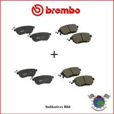 hinten Brembo HYUNDAI i40 Kit Bremsbeläge vorne