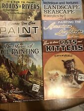 Lot of 6 Walter A. Foster Art Books Drawing Painting Instructions