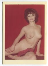 Vivienne Warren Wife And Model Of Harrison Marks 1950  Nude Color Photo  B7217