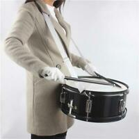 14 x 5.5 inches Professional Marching Snare Drum & Drum Stick & Drum Key & Strap
