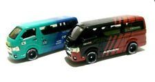 1:64 Toyota Hiace Advan & Falken diecast - Loose - same Tomica size - set of 2