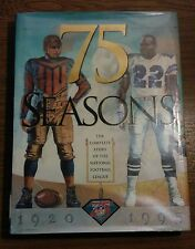 75 Seasons The Complete Story Of The National Football League 1920~1995 NFL Book
