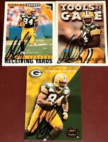 Sterling Sharpe #84 f. Green Bay Packers NFL WR football auto autograph card LOT