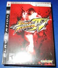 Street Fighter IV - Collector's Edition PlayStation 3 *New! *Sealed! *Free Ship!