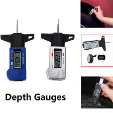 Car Digital Tyre Tire Tread Depth Gauge Measurer Caliper LCD Display 0-25.4mm AP
