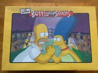 NEW The Simpsons Battle Of The Sexes 2003 Board Game