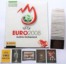 Panini EURO 2008 - complete set of 535 stickers + empty album NEW