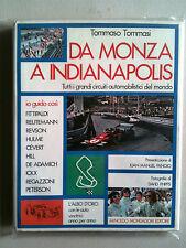 TOMMASI Da Monza a Indianapolis MONDADORI 1973